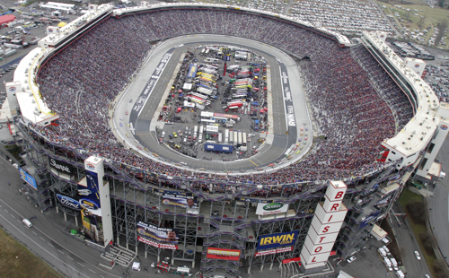 Bristol motor speedway seat view for Hotels near bristol motor speedway and dragway