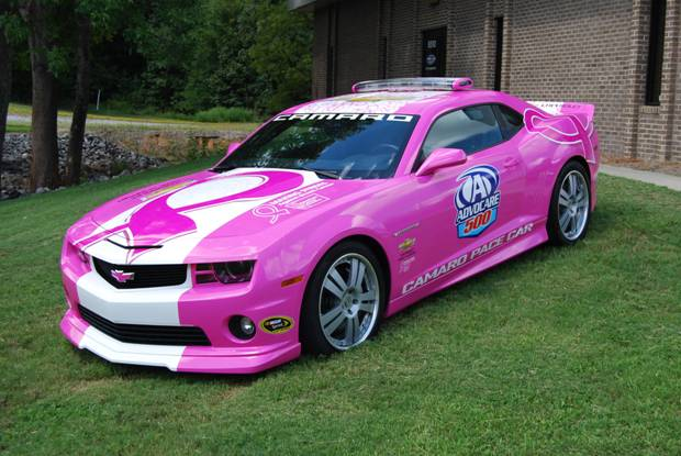 CHEVROLET RACING KICKS OFF BREAST CANCER FIGHT ...