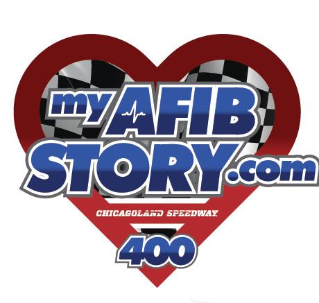 myAFIBSTORY.com 400 Chicagoland race logo