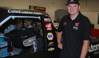 Cole Custer with Code 3