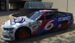 Trevor Bayne throwback paint scheme for Darlington 2015