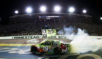 Rowdy has finally achieved immortality with his first NASCAR Sprint Cup Series title. Photo: Chris Graythen/Getty Images