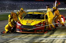 Joey Logano will look to climb out of the points deficit he's in. (Photo by Jerry Markland/Getty Images for Texas Motor Speedway)