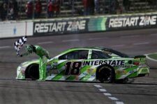 Kyle Busch comes into Thunder Valley on quite a hot streak. Photo: Sarah Crabill/Getty Images for Texas Motor Speedway