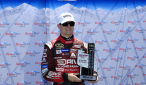 Jeff Gordon, who retired at the end of last season, was all smiles after winning the 2015 GEICO 500 Pole Award. There will be a new pole winner to lead the field to the green flag for this year's GEICO 500 NASCAR Sprint Cup Series race at Talladega Superspeedway.