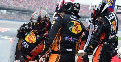 Ty Dillon made a seamless swap with Tony Stewart on his way to finishing sixth. Photo: Jared C. Tilton/Getty Images