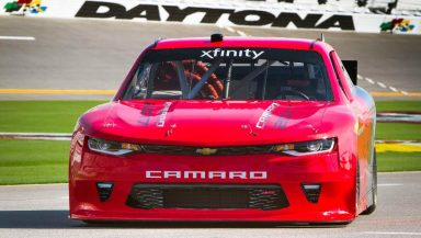 Chevrolet announces Thursday, June 30, 2016, that the sixth-generation Camaro SS will serve as the model for Chevrolet race cars in the NASCAR XFINITY series starting next season. The official racing debut comes in February at the 2017 season's kickoff race at Daytona International Speedway. (Photo by Alexis Meadows for Chevy Racing)