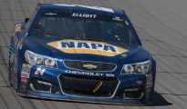 Chase Elliott came up short again after a runner-up finish.  Photo by Tim Jarrold