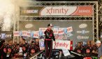 Austin Dillon celebrates victory at Thunder Valley. Photo: Jeff Curry/NASCAR via Getty Images