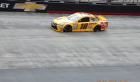 Kyle Busch posted the fastest time in final Sprint Cup Series practice at Bristol Motor Speedway. Photo: Tucker White/SpeedwayMedia.com