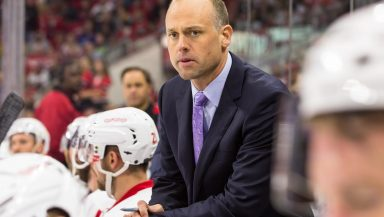 Detroit Red Wings Head Coach Jeff Blashill will give the command to start the engines as the grand marshal for the Pure Michigan 400 on August 28. (credit: Detroit Red Wings)