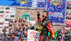 Martin Truex Jr. earns his second career victory at the famed road course, Sonoma Raceway. Photo by Rachel Myers for Speedway Media.