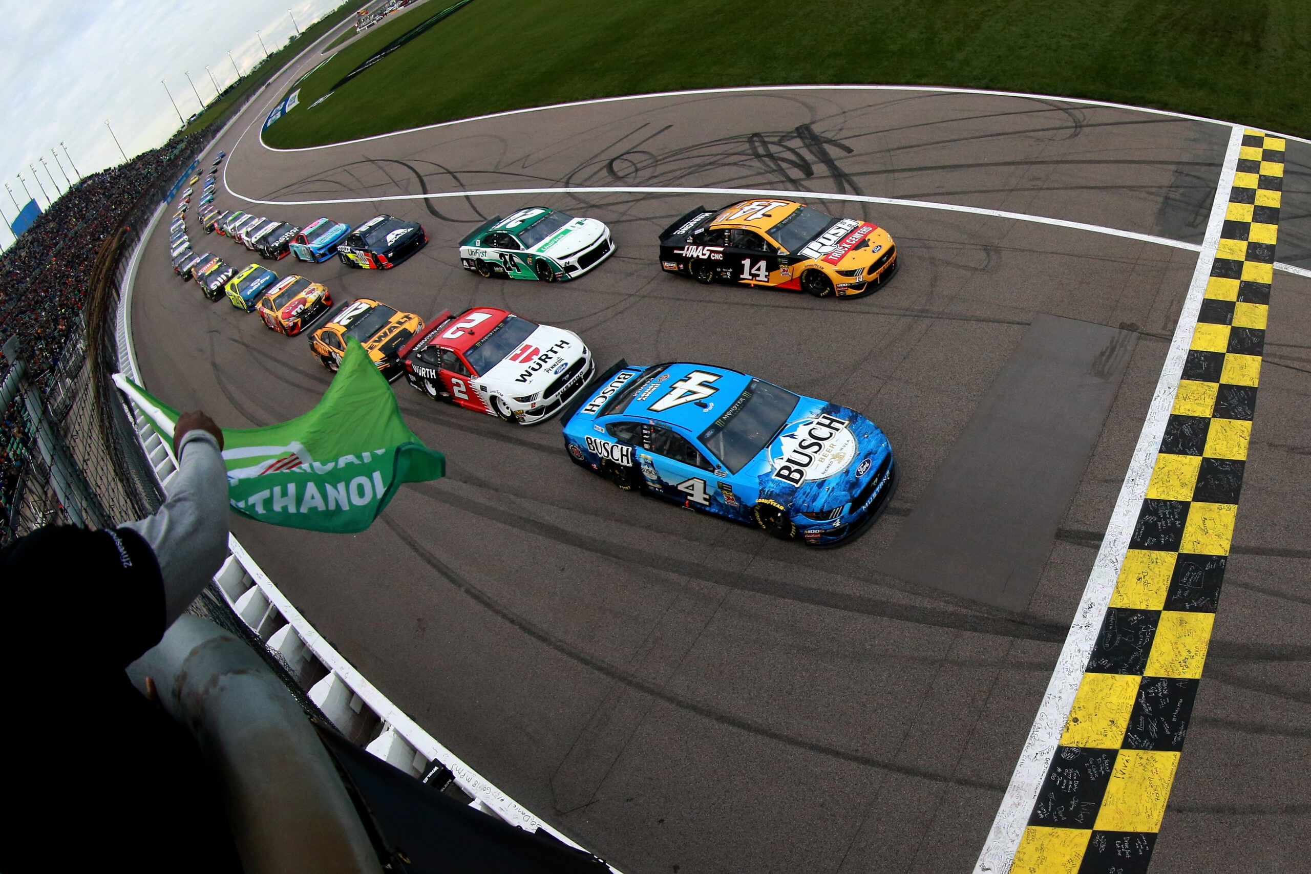 Weekend schedule for Kansas Speedway