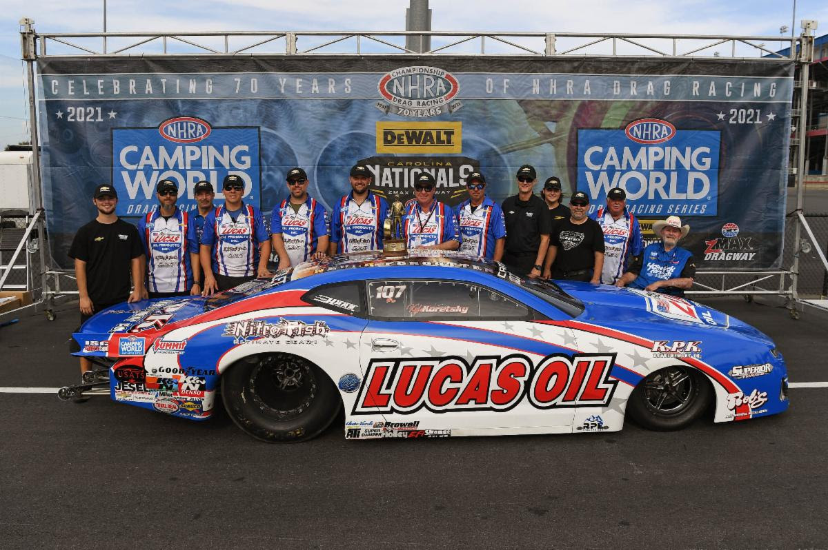 CHEVROLET RACING IN NATIONAL HOT ROD ASSOCIATION: CHARLOTTE – POST RACE RECAP & QUOTES