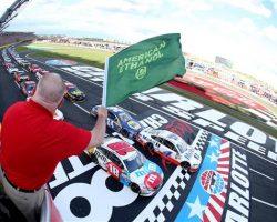 Charlotte Motor Speedway Green Flag Coca-Cola 600 5-28-17