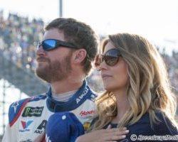 Dale Earnhardt Jr. and Amy by Stephanie McLaughlin Darlington Southern 500 2017