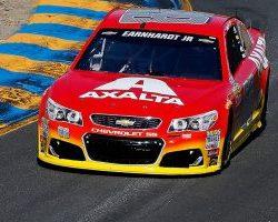 Dale Earnhardt fastest at Sonomo vis nascar.com