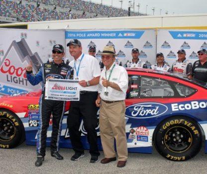 Greg Biffle wins NSCS pole at Daytona 7-1-16 by Noel Lanier (1)