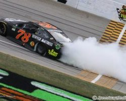 Martin Truex Jr wins at Chicagoland by Simon Scoggins