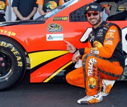 NASCAR Sprint Cup Series Hellmann's 500 Qualifying