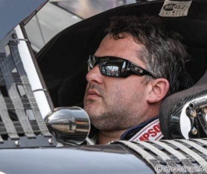 Tony Stewart at Indy 2015 by Adam Lovelace